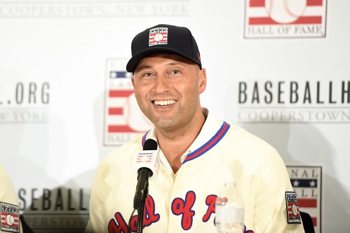 Derek Jeter Hall of Fame press conference