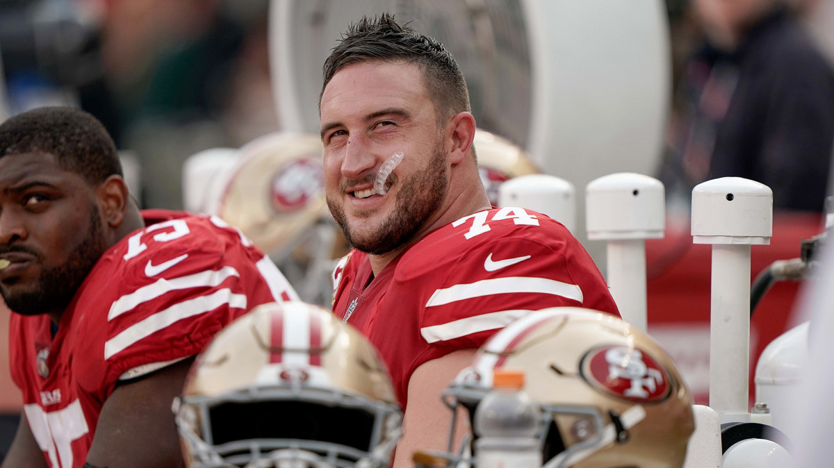 Staley played in 181 games—fifth-most among San Francisco offensive linemen—in his 13-year career.