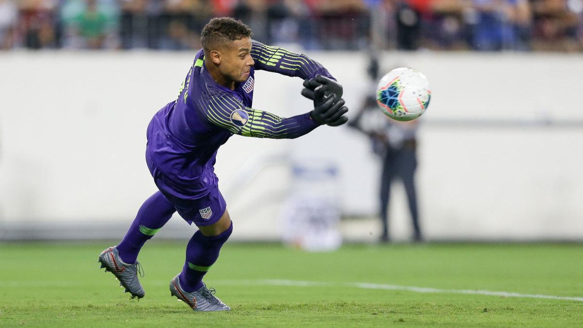 USMNT goalkeeper Zack Steffen