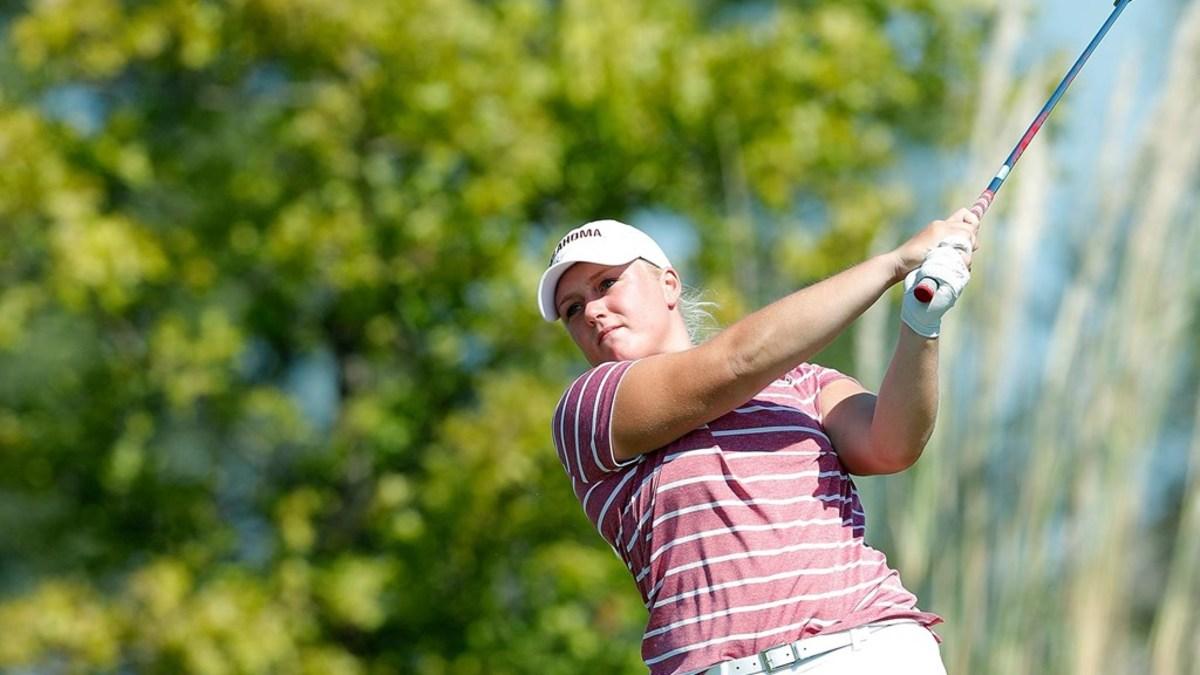 OU golfer Kaitlin Milligan