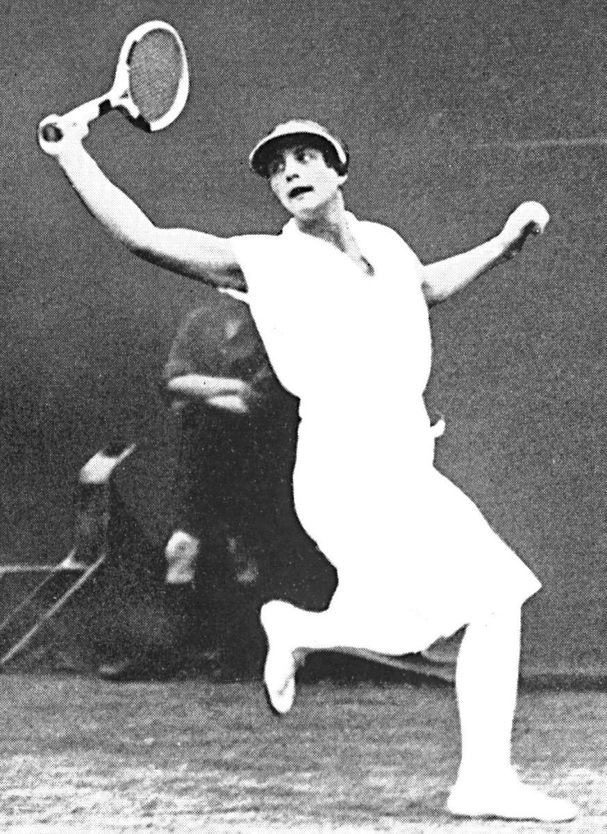 Tennis star Helen Wills Moody