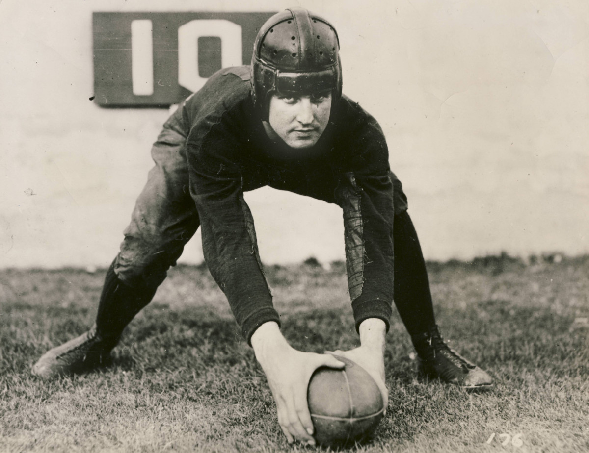 """Roy Riegels famously ran the """"Wrong Way"""" in the Rose Bowl, but he also was an All-America center"""