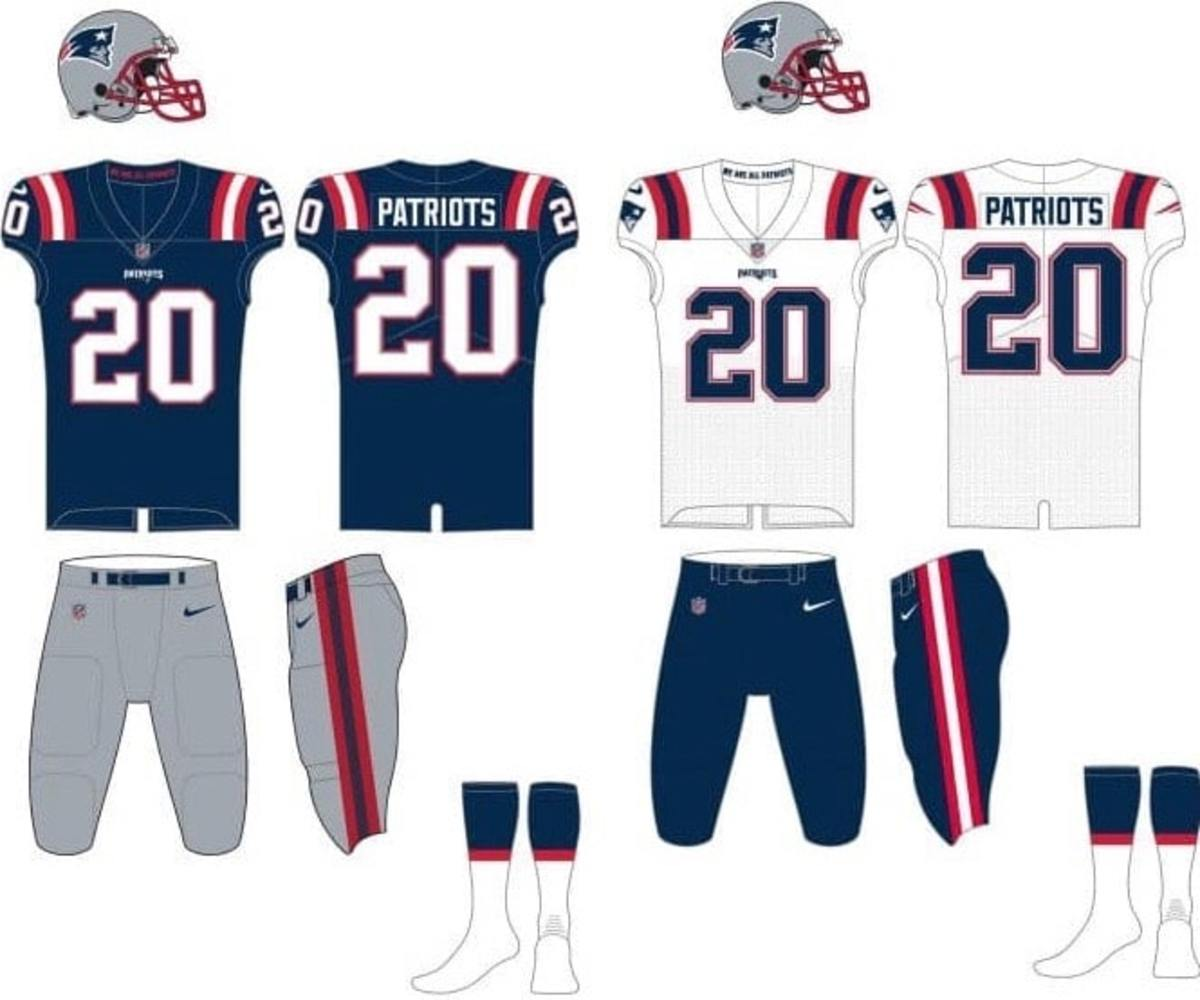 NFL Rumors: Patriots Considered Using Grey Bottoms With New Blue ...