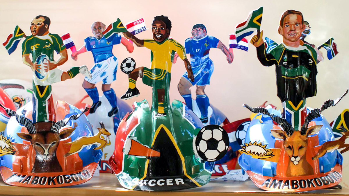 South Africa hosted the 2010 World Cup