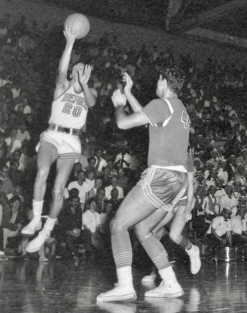 Russ Critchfield was a dynamic scoring guard for Cal