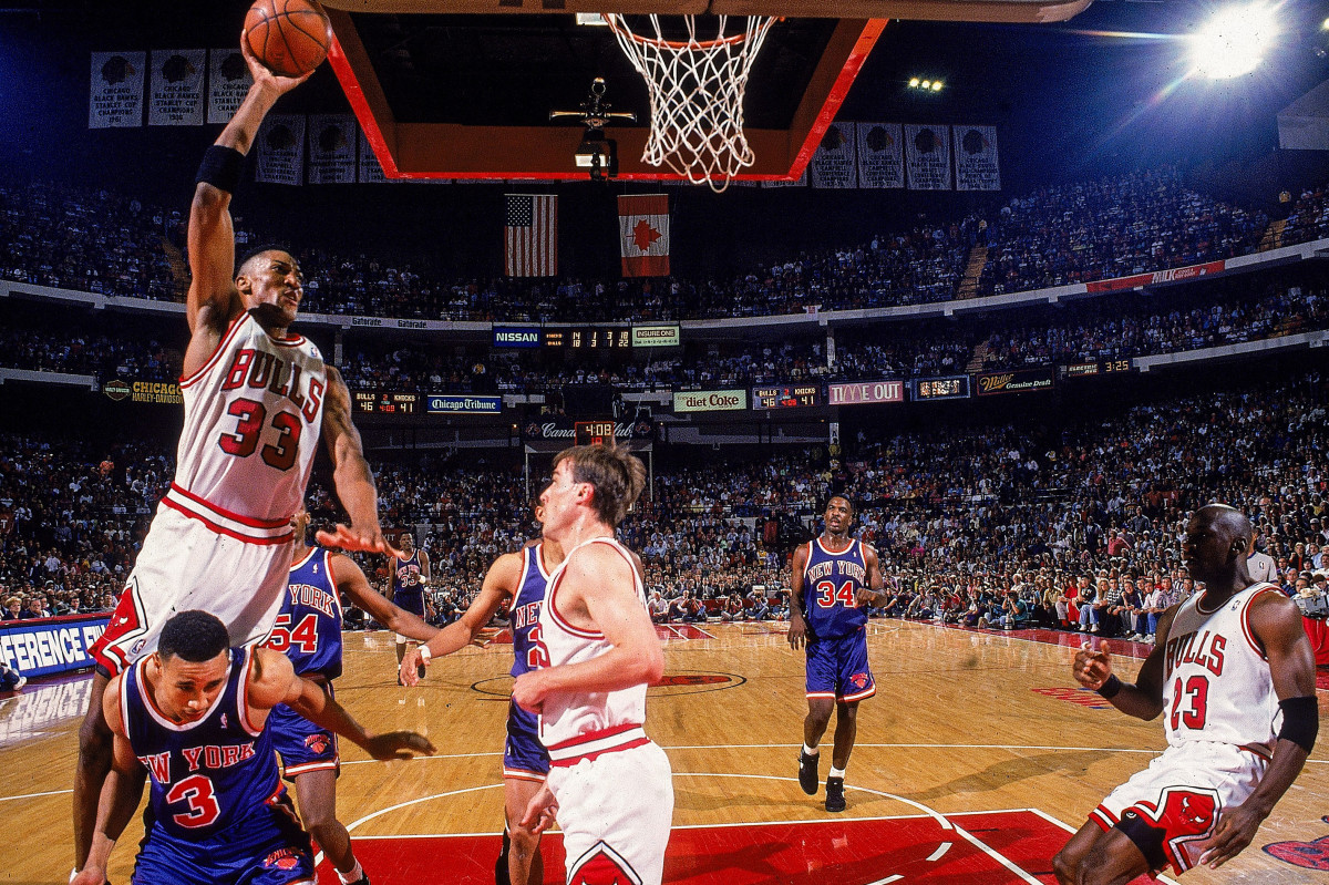 In 1993, a Pippen-led Conference Finals home stand was a stark contrast to Chicago's early effort away.