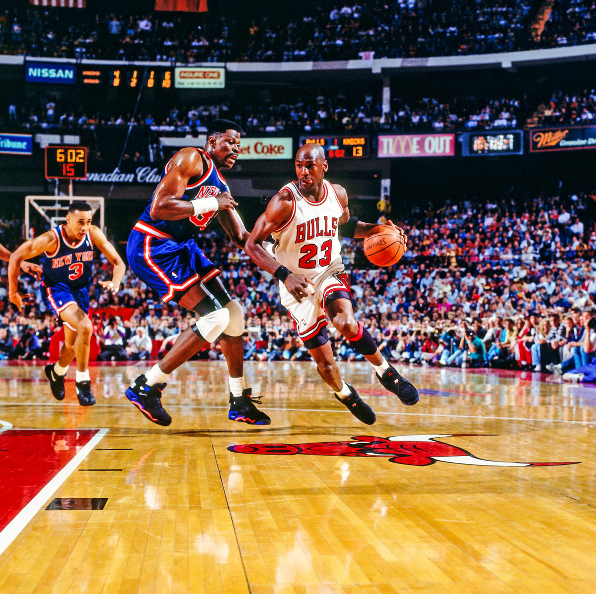MJ and the Bulls, back in Chicago after digging a 2-0 New York hole in 1993.