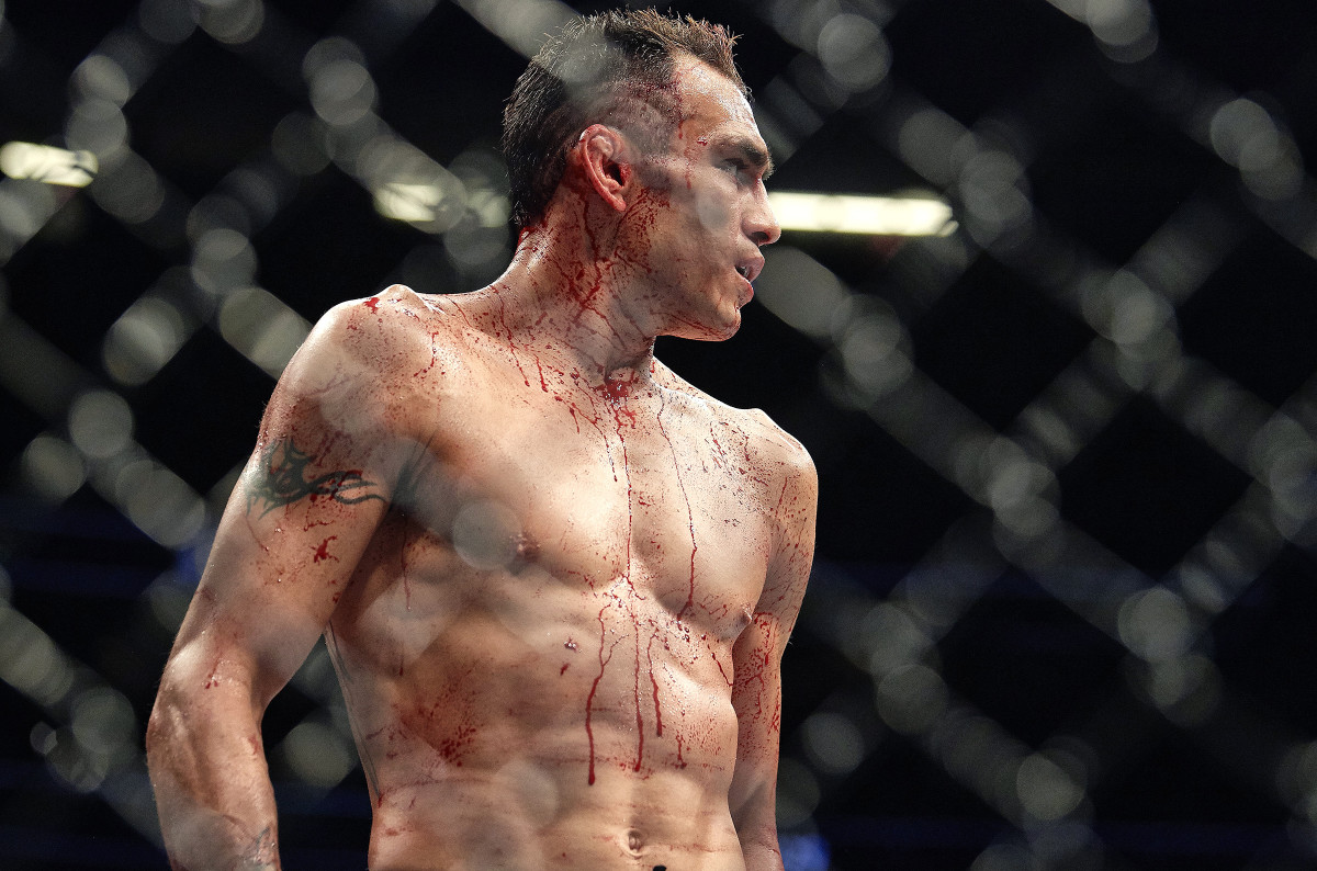 The return to sports will look something like...this. At UFC 249, Tony Ferguson, a former interim lightweight champion, takes on Justin Gaethje.