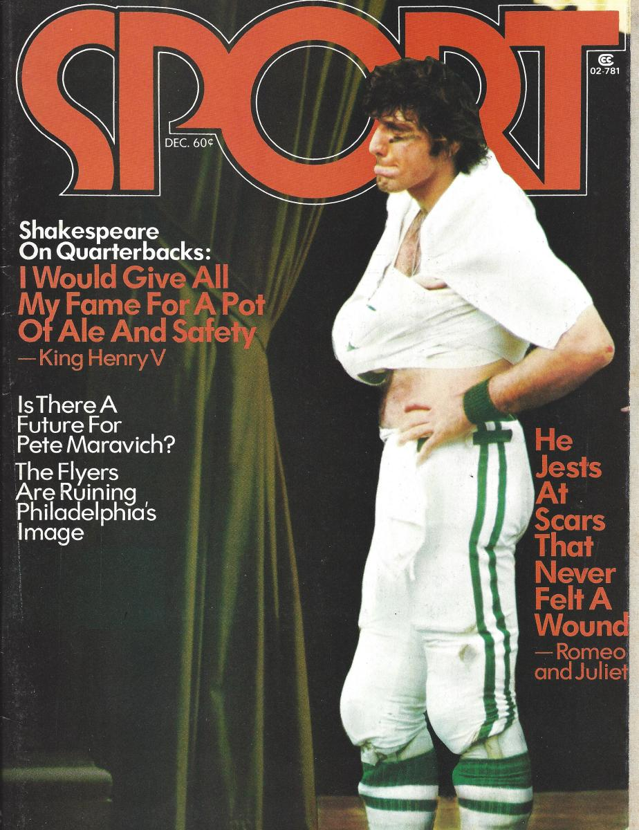 Sport Magazine, Joe Namath cover