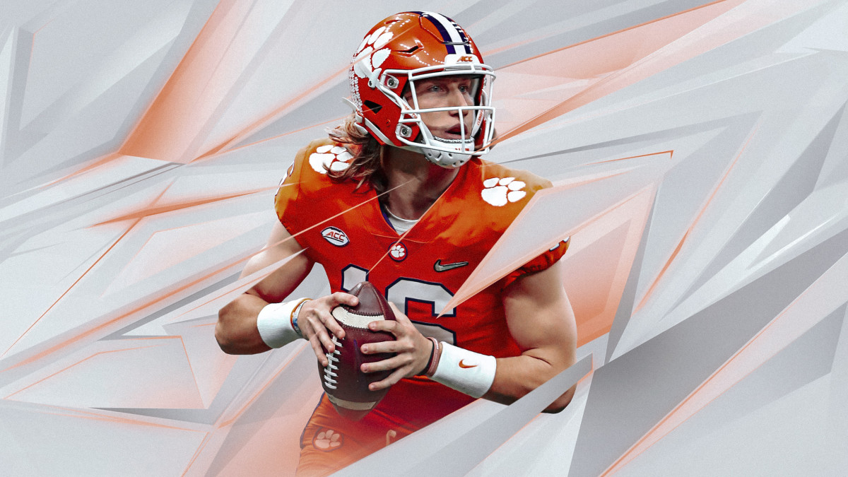 NCAA Football video game Trevor Lawrence