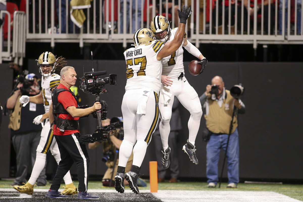 Warford has given the Saints plenty to celebrate: He's made each of the last three Pro Bowls.