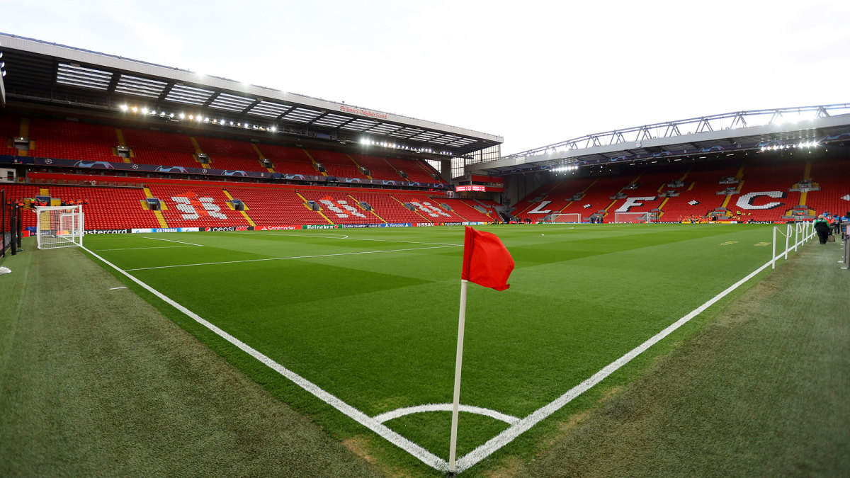 Liverpool's home stadium, Anfield