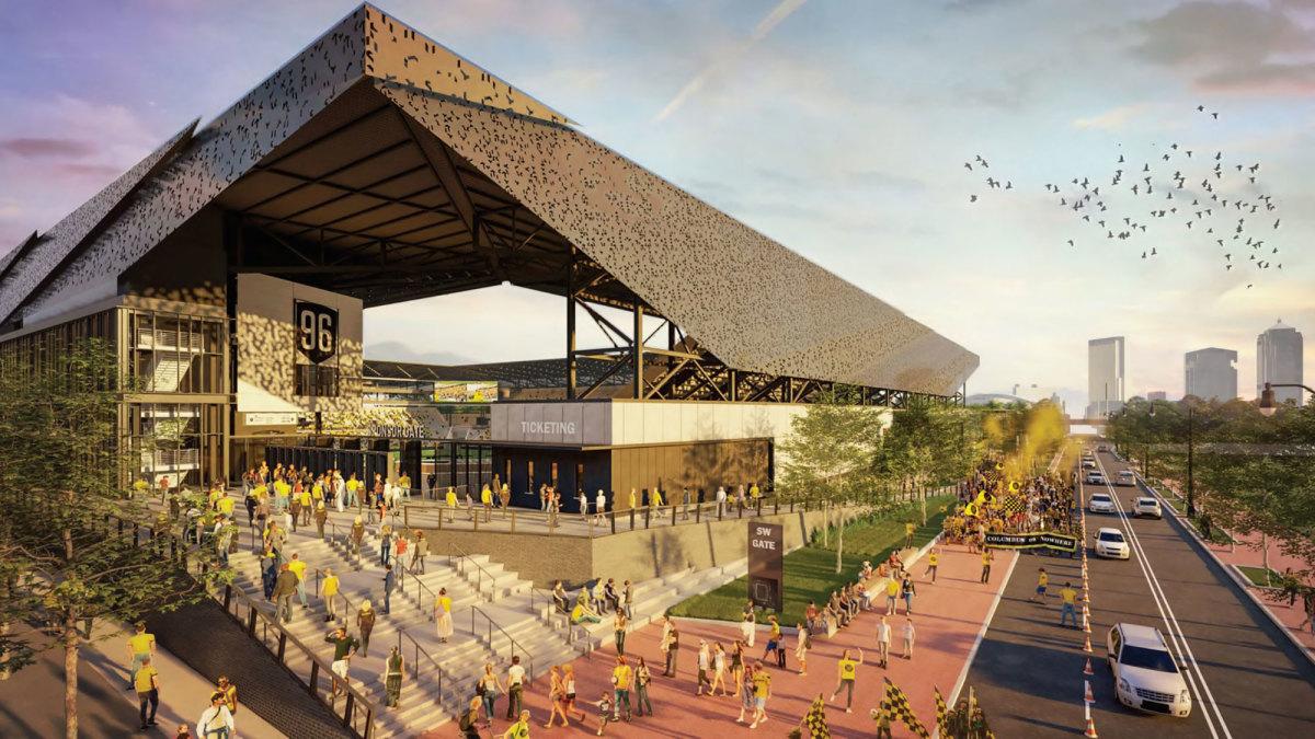 The new Columbus Crew stadium