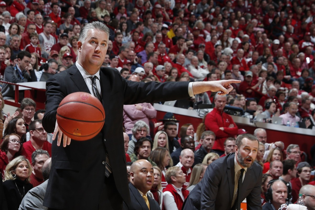 Purdue coach Matt Painter makes a point during the Boilermakers' victory over Indiana on Feb. 8 in Assembly Hall. (USA TODAY Sports)