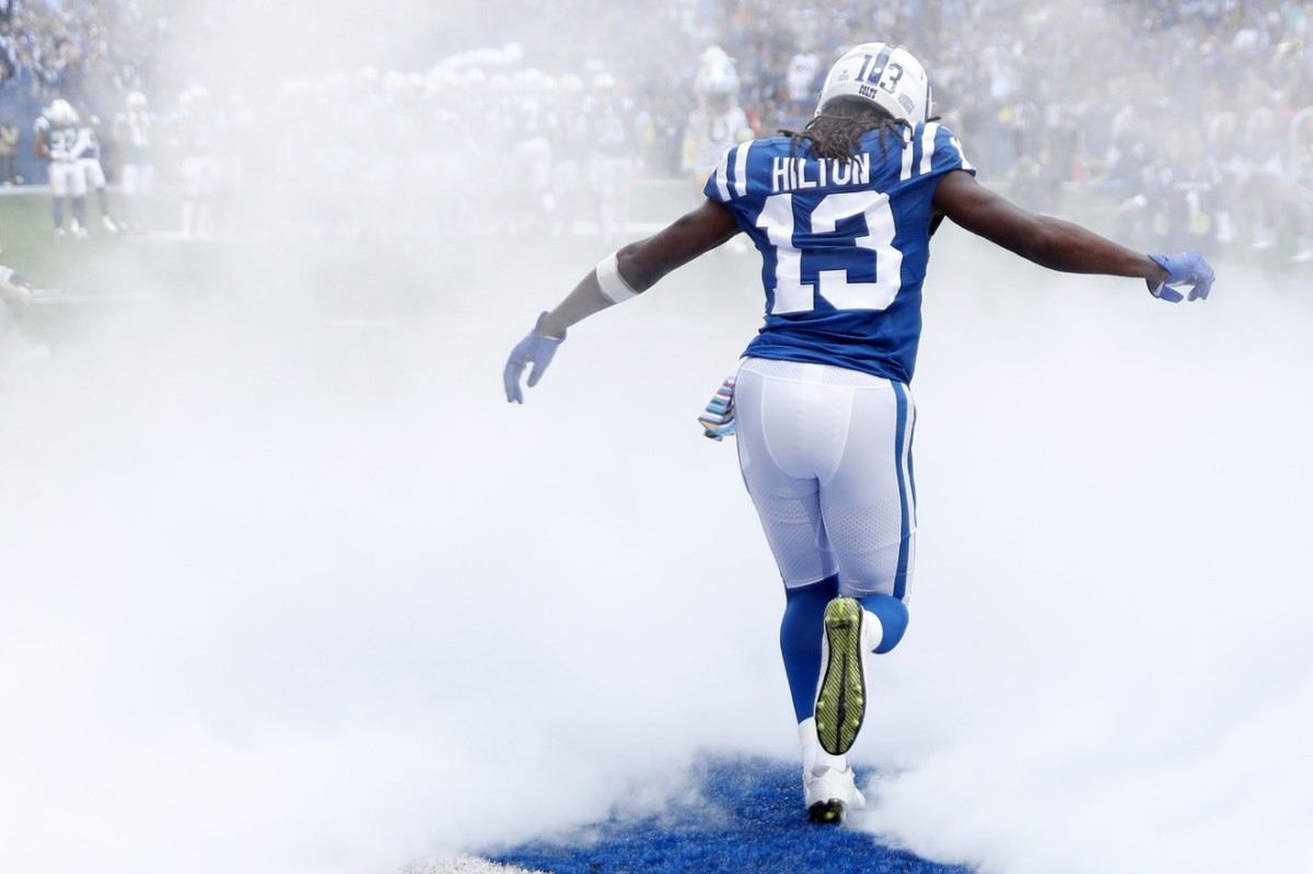 """Colts four-time Pro Bowl wide receiver T.Y. Hilton is entering a contract year in 2020, but says he wants """"to be a Colt for life."""""""