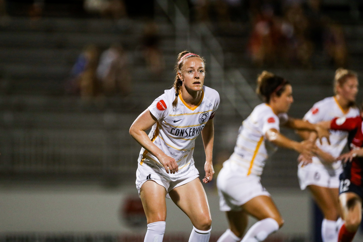 USWNT's Becky Sauerbrunn was traded to the Portland Thorns from Utah Royals FC