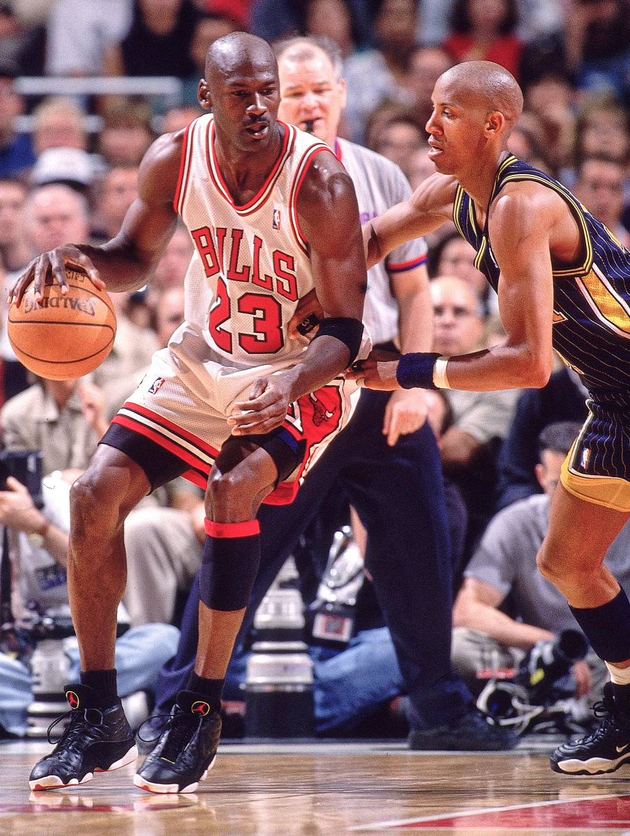 "Jordan—""the Black Cat,"" or ""Black Jesus""—goes at Miller in 1998."