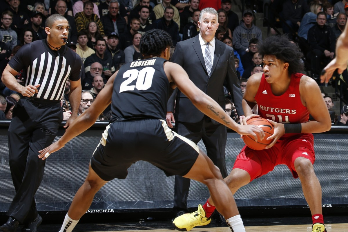 """Purdue coach Matt Painter said this weekend that Nojel Eastern (20) """"never once'' brought up the idea of transferring until he told his coach on Tuesday that he was entering the transfer portal. (USA TODAY Sports)"""