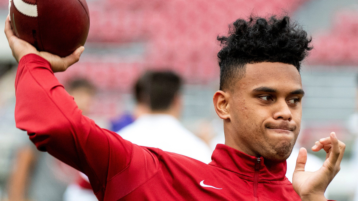 Tua's little brother got into three games and completed nine passes as a freshman for the Tide.