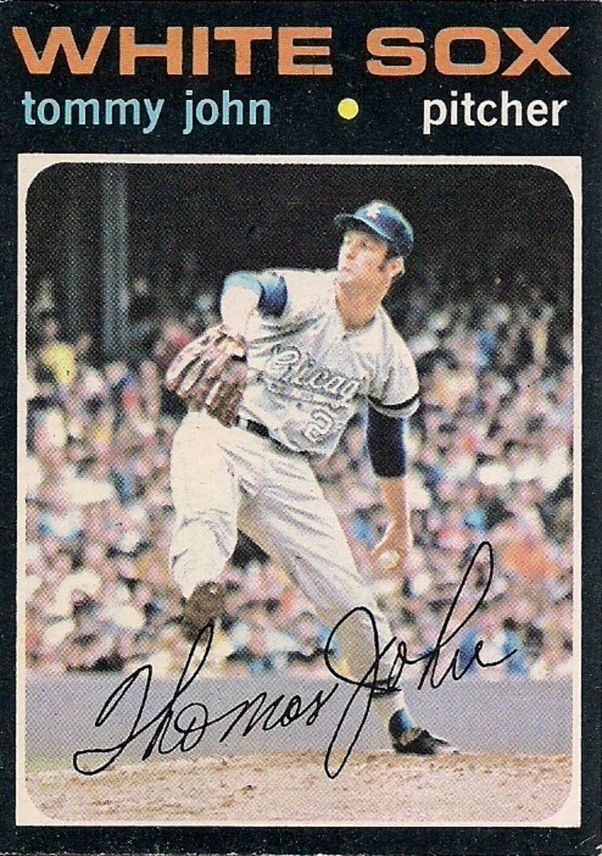 When it comes to fame, Tommy John is Topps.