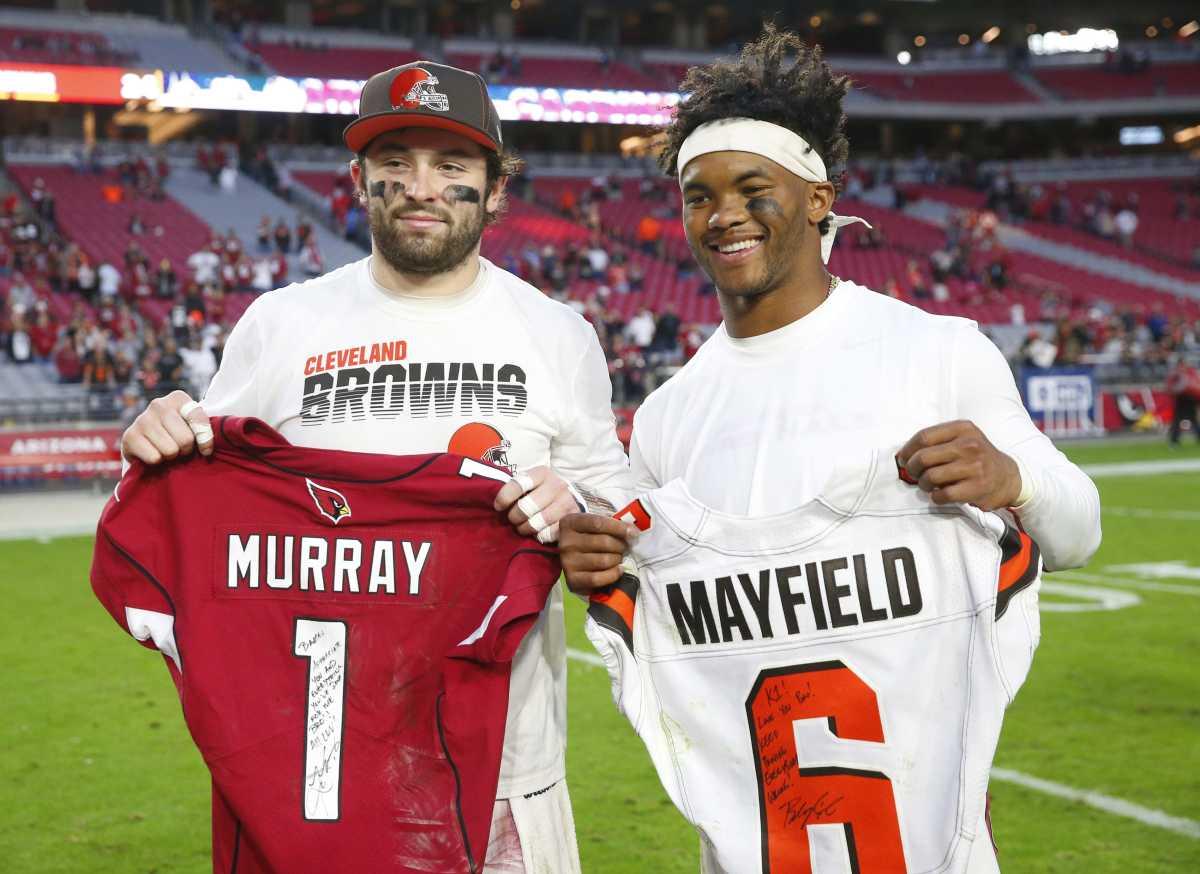 Baker Mayfield and Kyler Murray