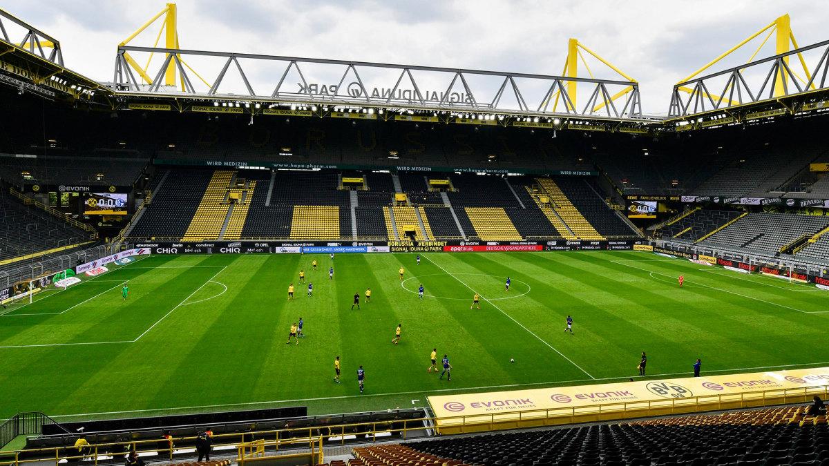 Signal Iduna Park for Dortmund vs. Schalke