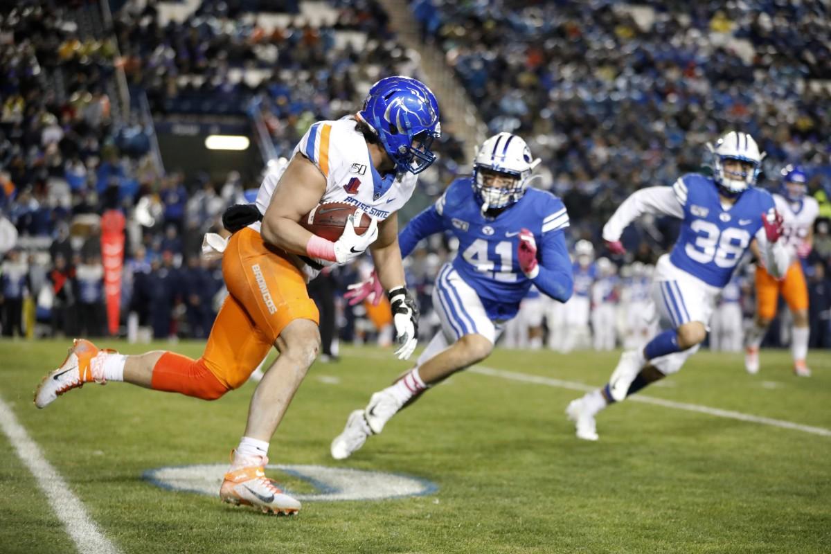 Keenan Pili BYU Football Boise State Football