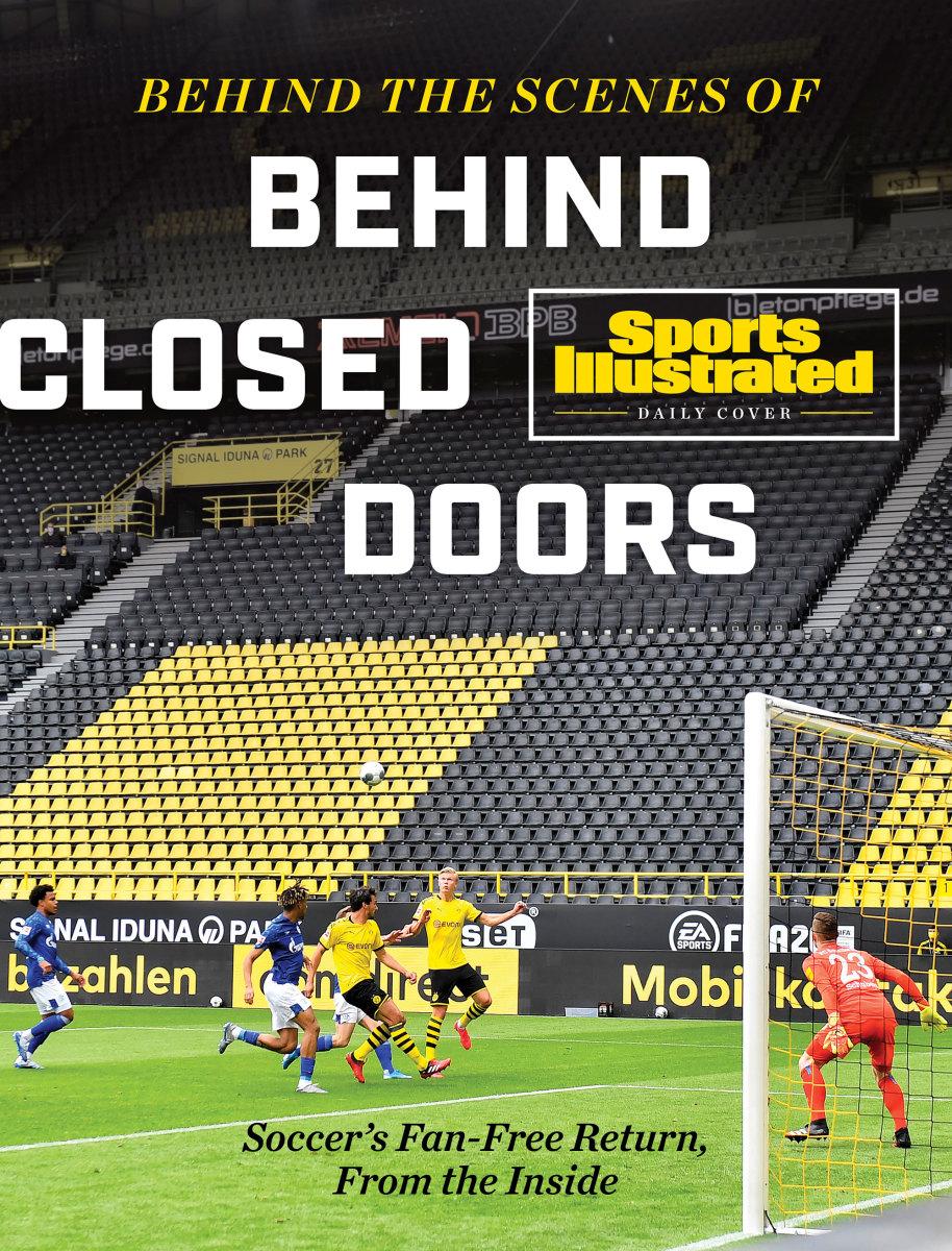 Borussia Dortmund and Schalke play behind closed doors at Signal Iduna Park