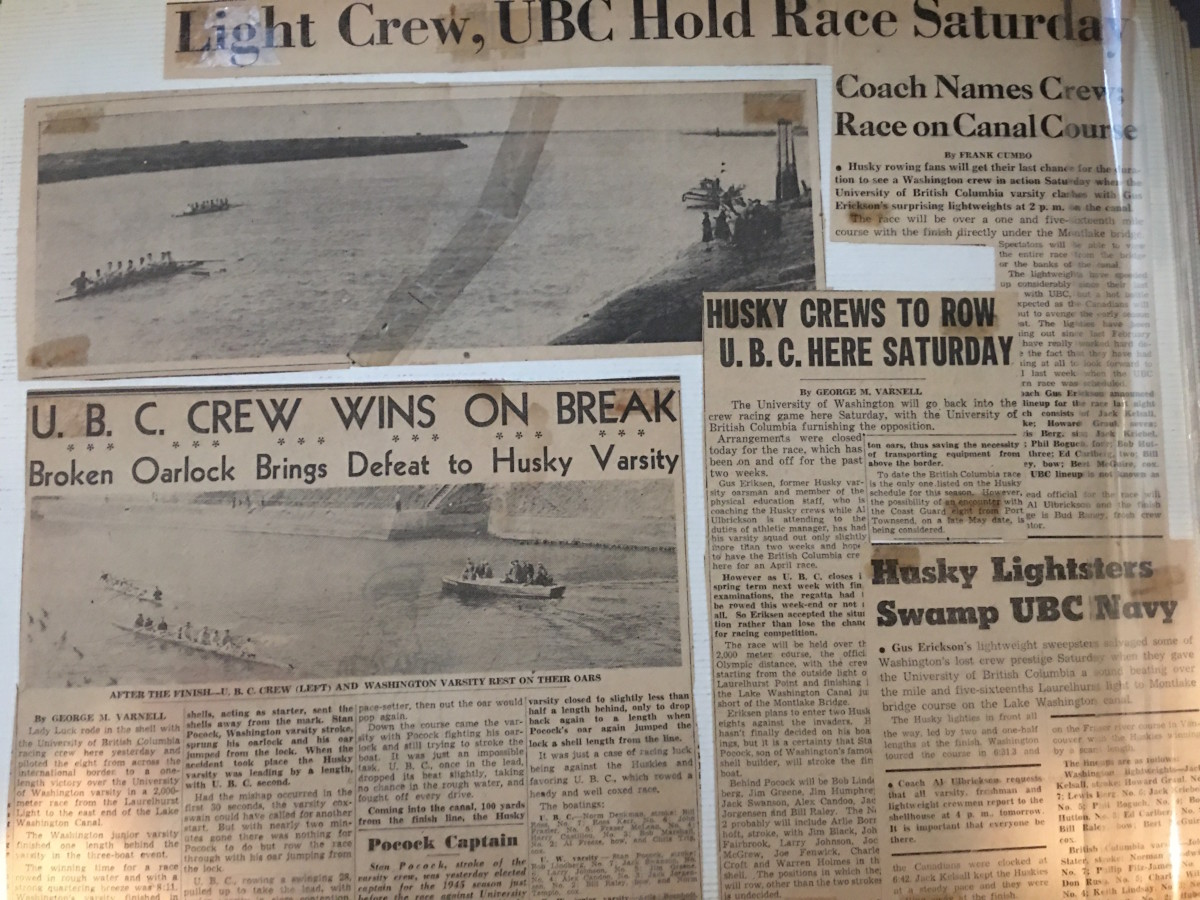 Husky crew engaged in an abbreviated schedule before shutting down in 1944 and 1945.