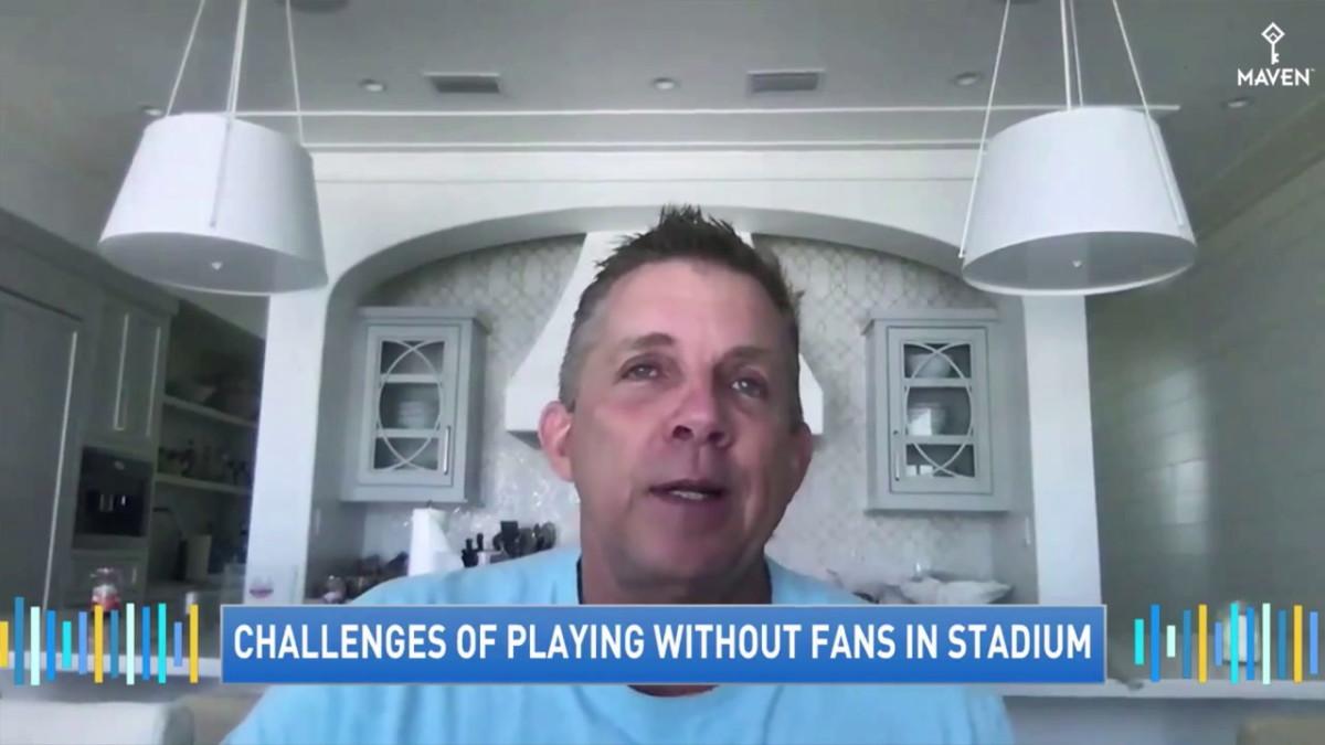 Saints HC Sean Payton, GMA Interview