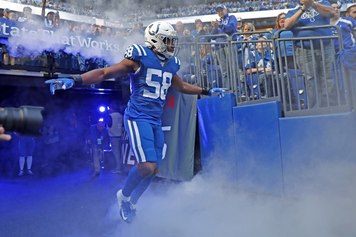 Indianapolis Colts strongside linebacker Bobby Okereke distinguished himself as one of the NFL's top rookie defenders in 2019.