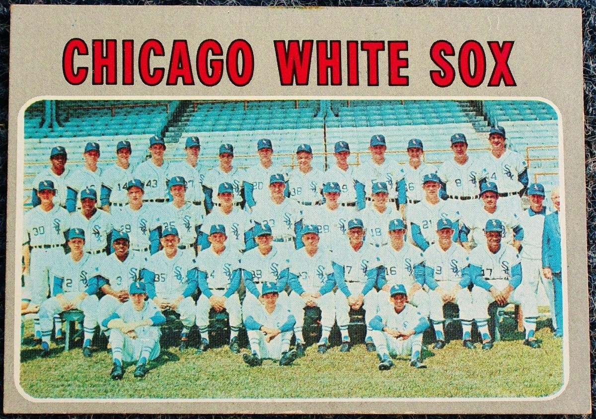 Even color-coordinating hats and seats couldn't save the 1970 Sox.