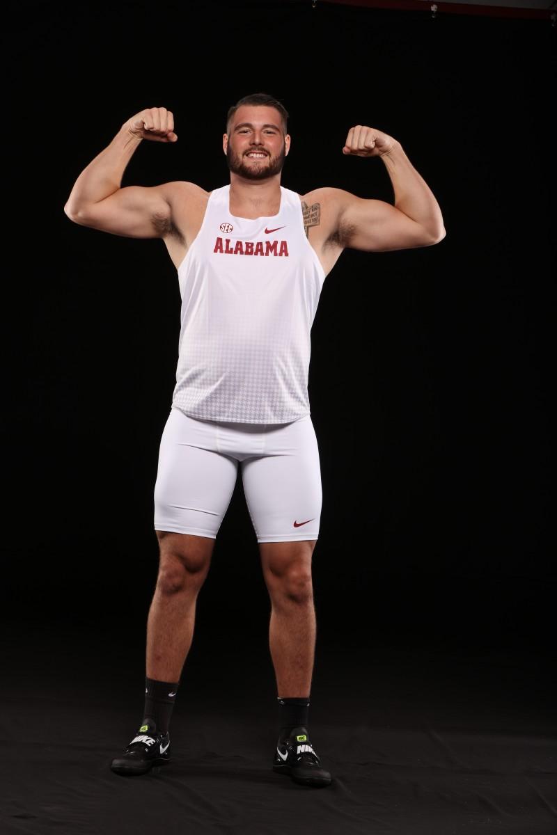 Alabama hammer thrower Bobby Colantonio