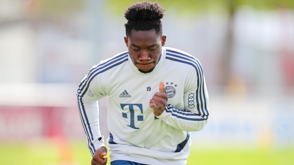 Alphonso Davies has emerged as a star for Bayern Munich