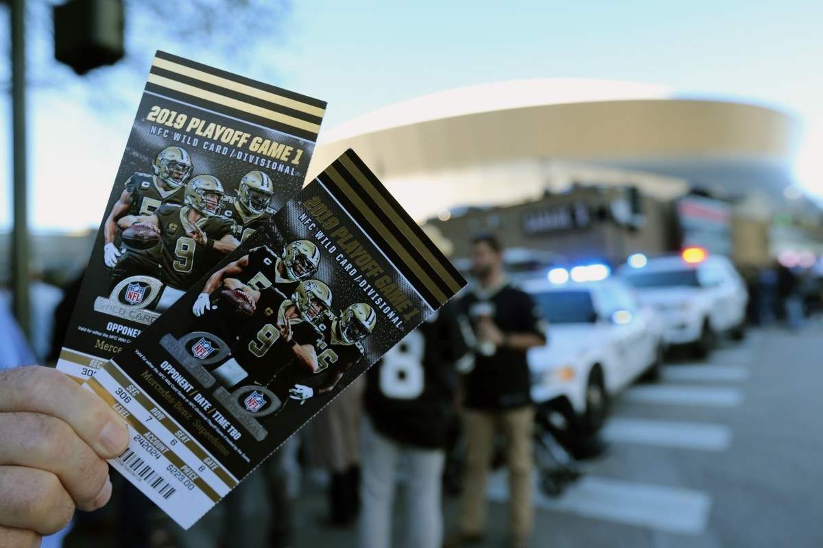 Saints Tickets