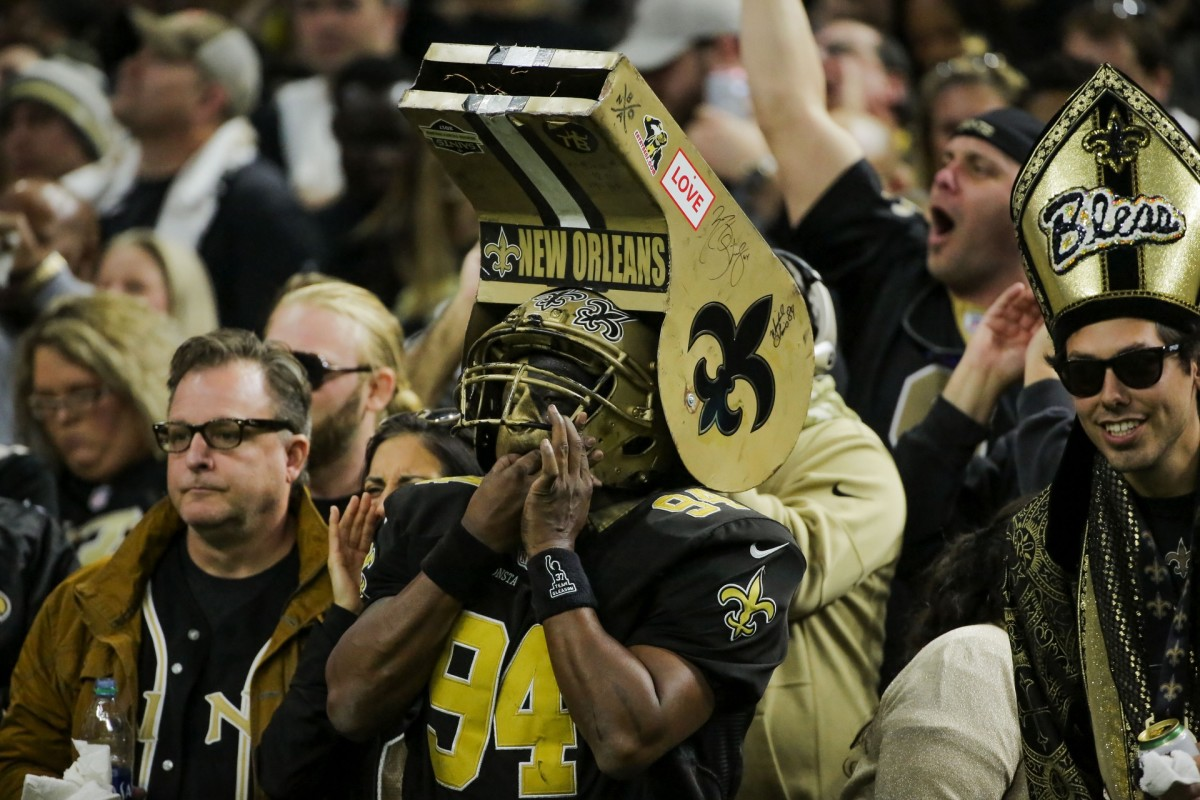 Saints games may have a radically different feel this season