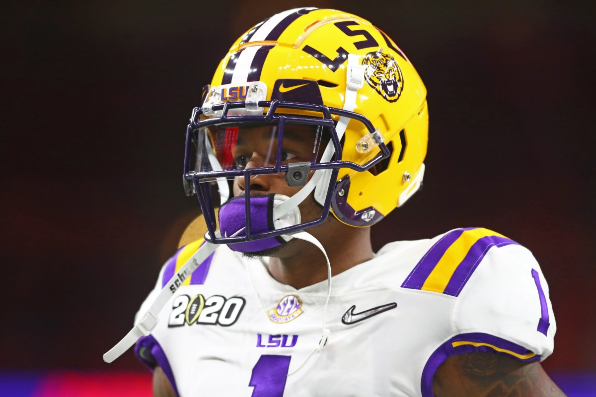 LSU cornerback Kristian Fulton was selected by the Tennessee Titans in the second round of April's NFL draft.