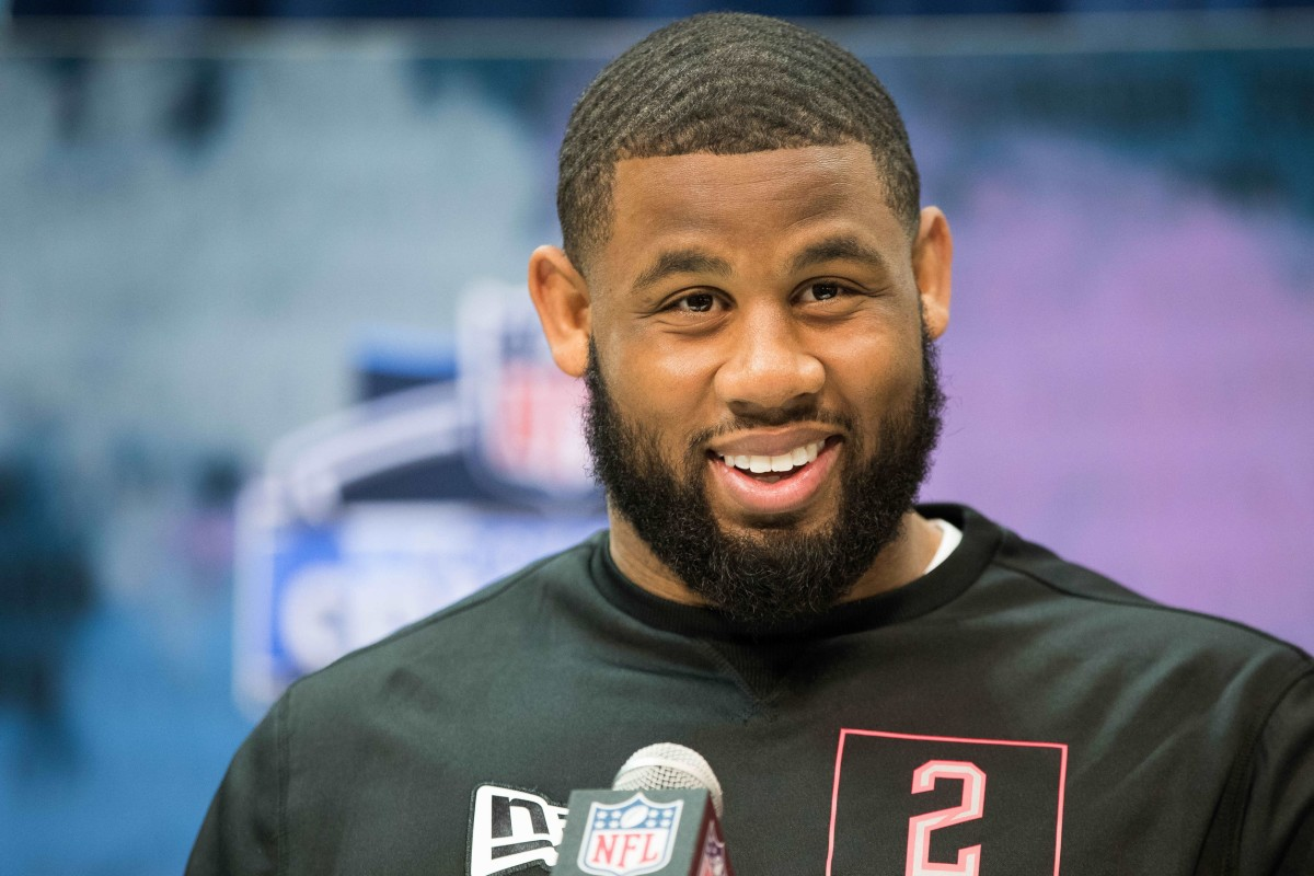 TCU defensive tackle Ross Blacklock was selected by the Houston Texans in the second round of April's NFL draft.