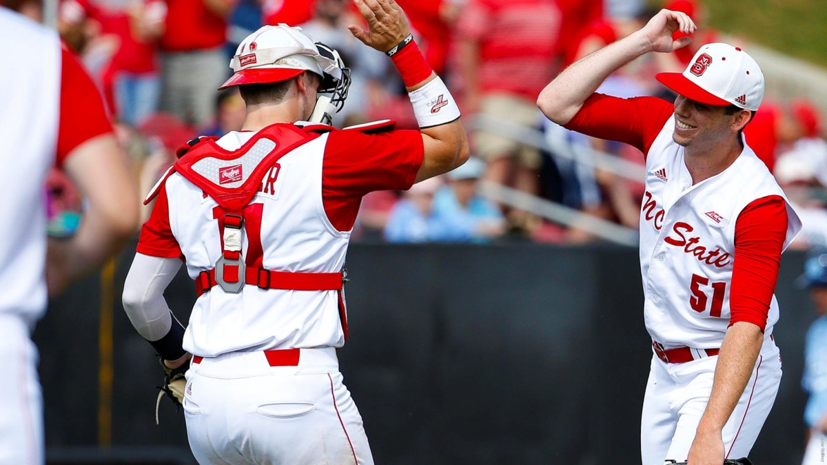 Will Gilbert (51) went 8-2 with 11 saves in four seasons pitching for the Wolfpack