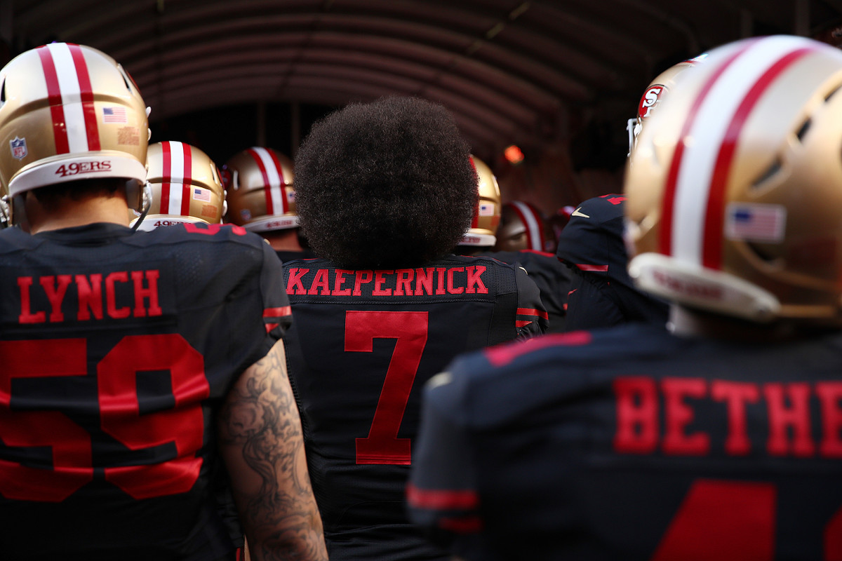 What would it mean to put Kap's nameplate on some new team's back? Would he even go for it?