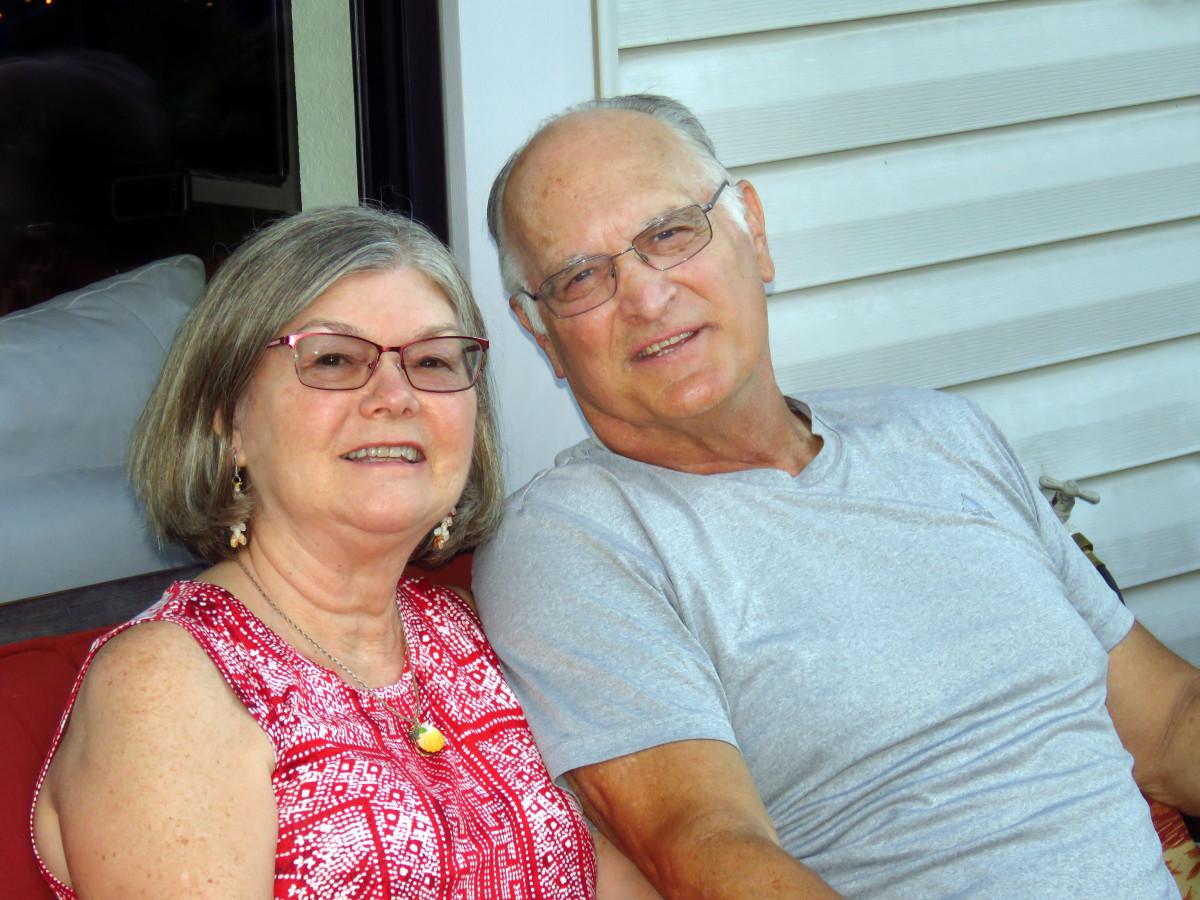 Former Cal football player Phil Croyle and wife Cheryl