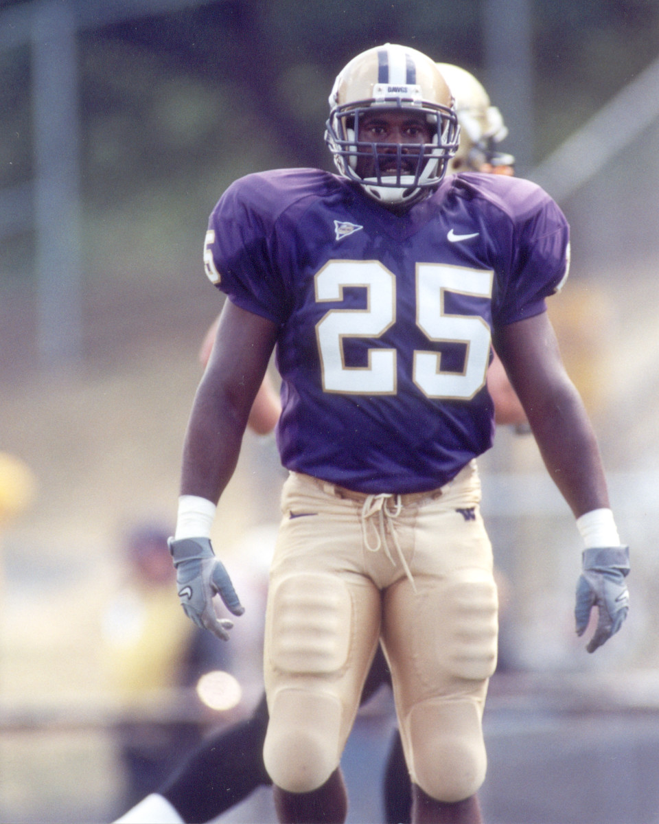 Curtis Williams was a great UW safety, paralyzed in play at Stanford. He passed away in 2002.