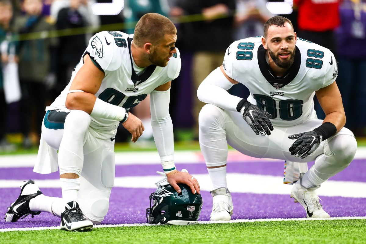 The Eagles may have the best tight group in the NFL and it's led by Zach Ertz and Dallas Goedert