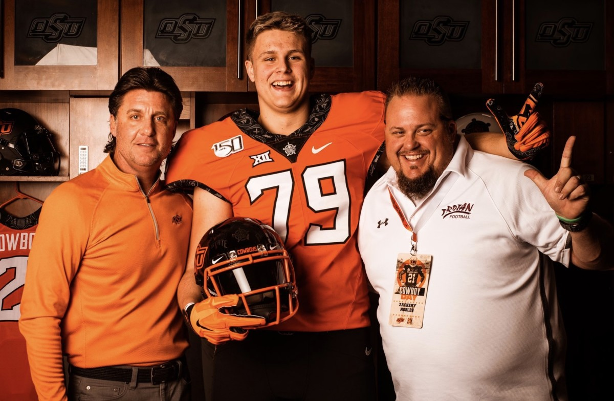 Logan Nobles is the Cowboys most recent pledge and the first offensive line commitment.