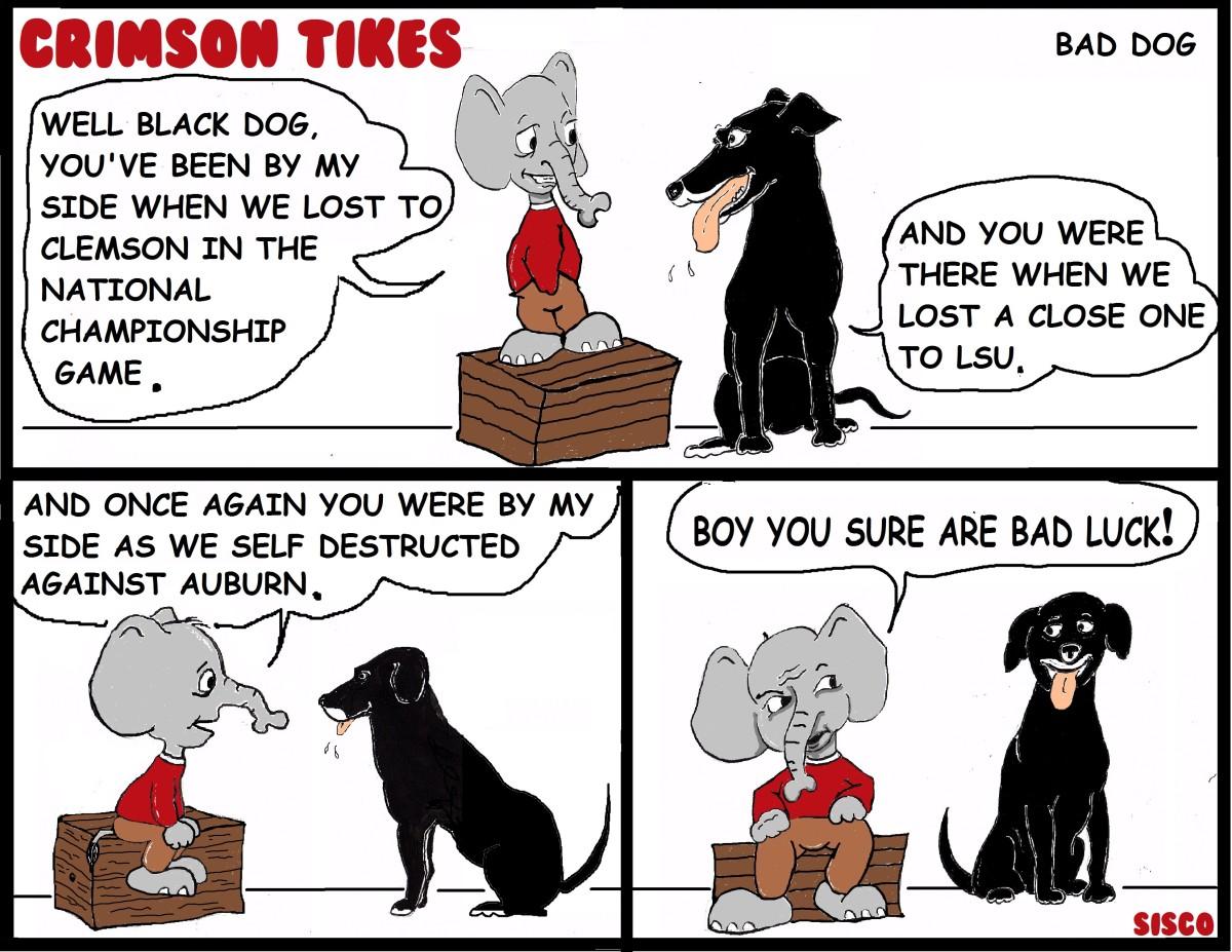 Crimson Tikes: Bad Dog