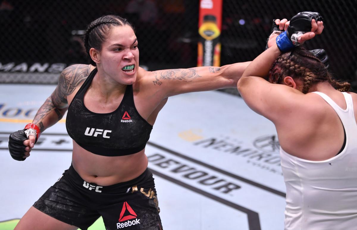 Amanda Nunes bat Felicia Spencer à l'UFC 250