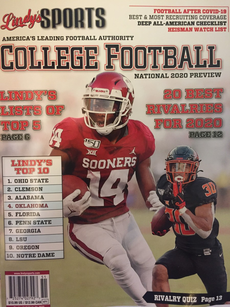 Chuba Hubbard on another cover.