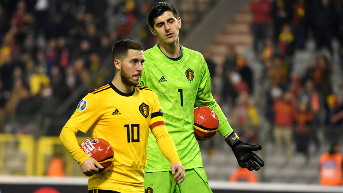 Belgium is the world's No. 1-ranked team