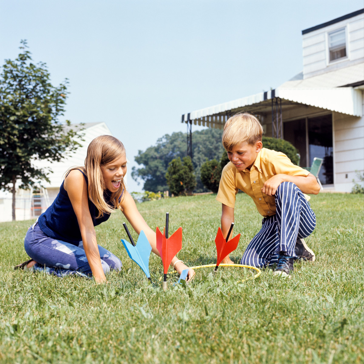 """Jarts, """"an outdoor game for the family,"""" was by 1970 """"an outdoor game for adults."""""""