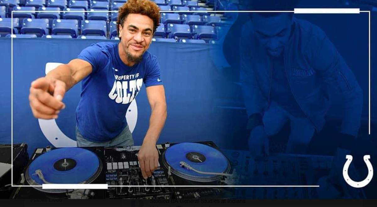 James Waldon is a popular DJ at Colts' games, a gig that he got thanks to Beaty paving the way.